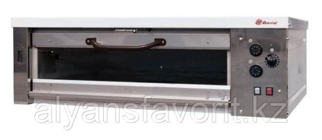 Хлебопекарная ярусная печь ХПЭ-750/1С (нержавеющая облицовка, стеклянные дверки), фото 2