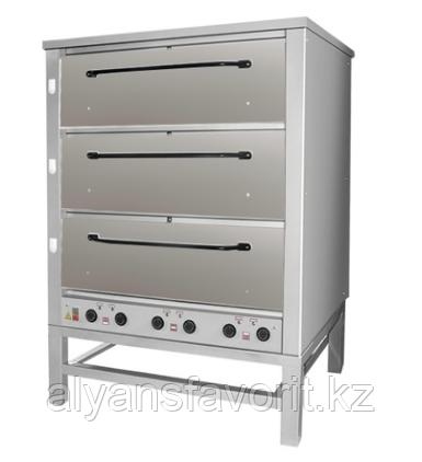 Хлебопекарная ярусная печь ХПЭ-500 (нержавеющие дверки), фото 2