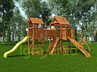 """IgraGrad """"Моряк"""" (Дерево) с деревянной лестницей, трапом, песочницей., фото 1"""