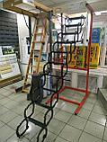 Металлическая чердачная лестница Termo Oman (60х80х290 см) Польша Whats Upp. +7 707 570 5151, фото 4