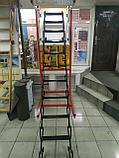 Металлическая чердачная лестница Termo Oman (60х80х290 см) Польша Whats Upp. +7 707 570 5151, фото 6
