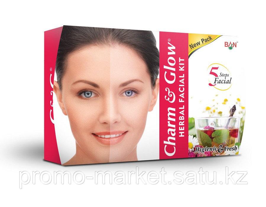 Крем натуральный травяной набор для лица