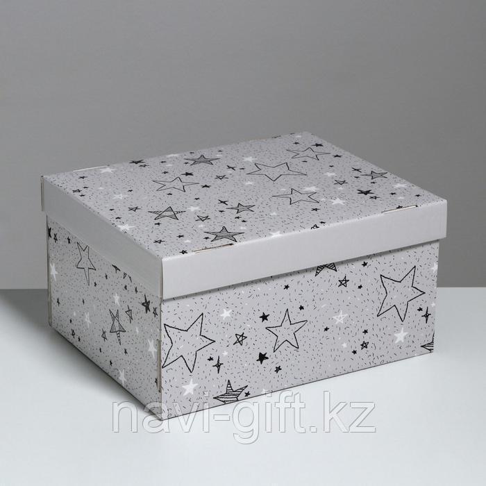 Складная коробка «Звёздные радости», 31,2 х 25,6 х 16,1 см - фото 1