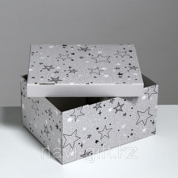 Складная коробка «Звёздные радости», 31,2 х 25,6 х 16,1 см - фото 3