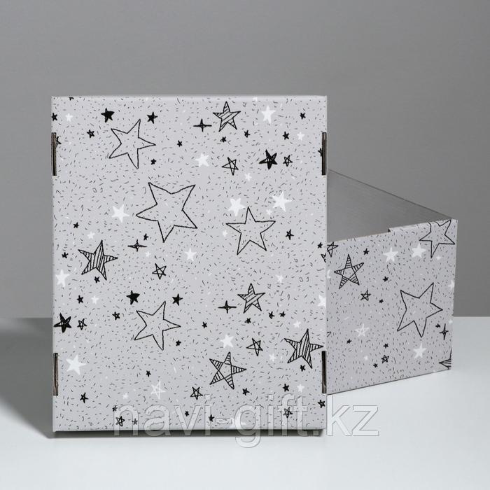 Складная коробка «Звёздные радости», 31,2 х 25,6 х 16,1 см - фото 6