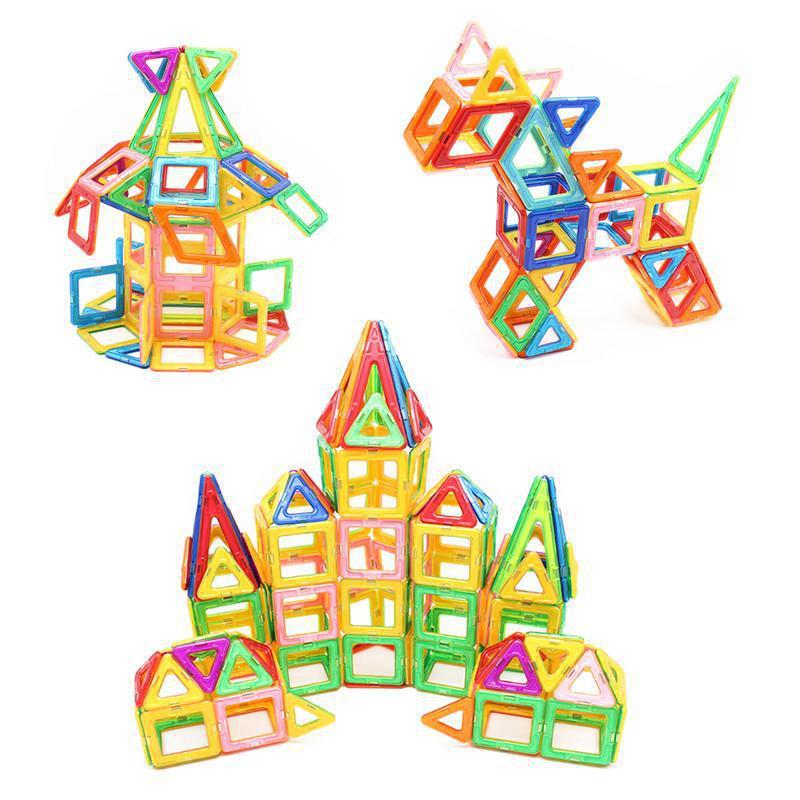 Уценка! Магнитный конструктор 70 предметов для детей