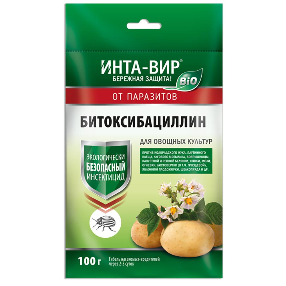 Инсектицид БИО Битоксибациллин Инта-Вир 100 гр