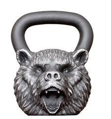 Гиря чугун ''Медведь'' 16,0 кг