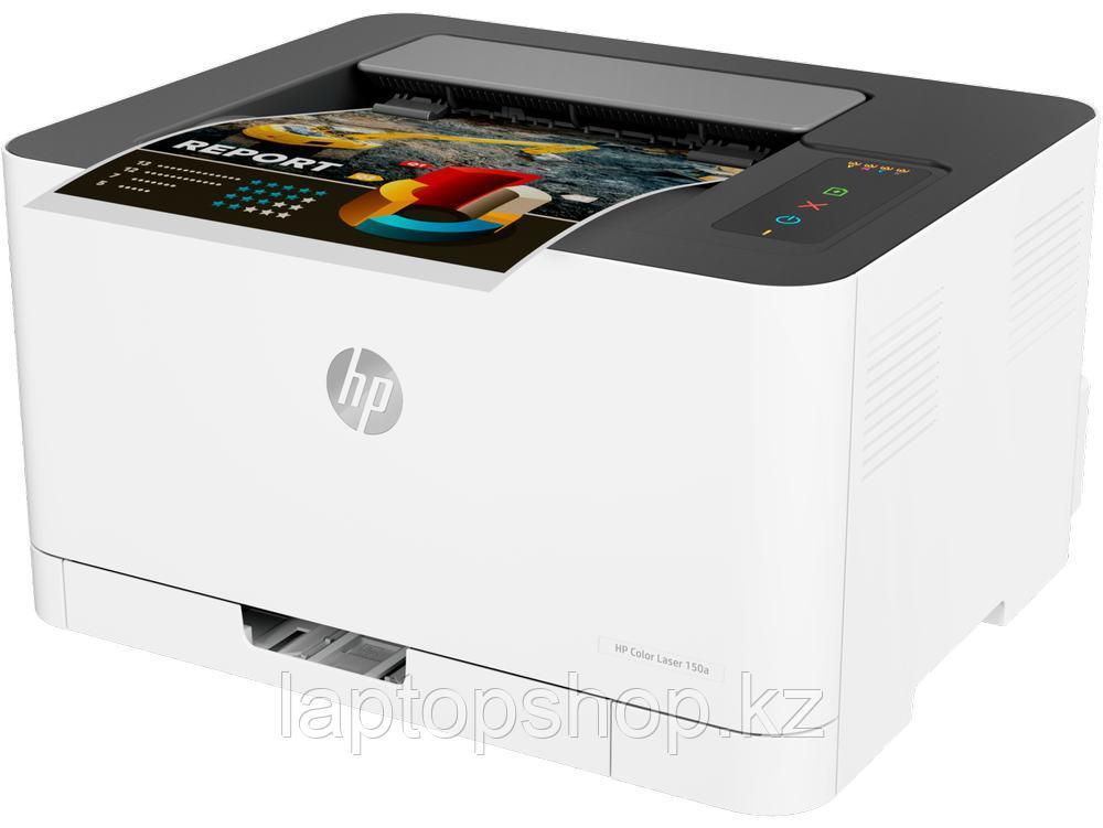 Принтер HP 4ZB94A HP Color Laser 150a Printer (A4)