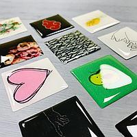 Стикерпаки обьемные, набор стикеров с логотипом