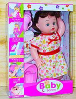 6630 Baby born Кукла с бутылочкой горшок и памперс 33*24см