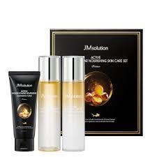 JM Solution Active Golden Caviar Nourishing Skin Care Set PRIME набор для увлажнение кожи
