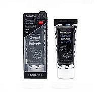 Маска-пленка для кожи лица 60мл Farmstay Charcoal Black Head Peel-off Mask Pack