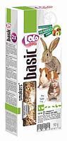 Лакомство для грызунов и кролика с орехами, Lolo pets - 90 гр