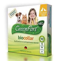 Ошейник для кошек и мелких собак от эктопаразитов, GreenFort neo Био - 40 см