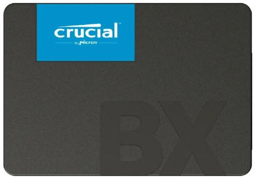 """Твердотельный накопитель 240Gb SSD Crucial BX500 3D NAND 2.5"""" SATA3 R540Mb/s W500MB/s 7mm CT240BX500"""