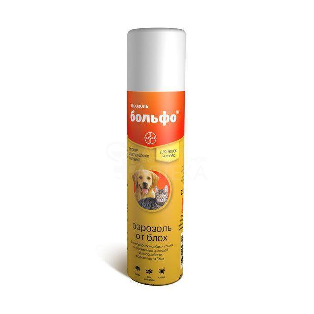 Спрей Больфо от блох и клещей для собак и кошек, Bayer - 250 мл