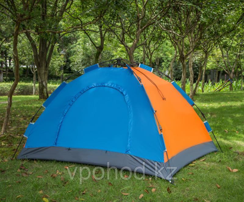 Палатка-зонт 4-местная разноцветная 200*200см