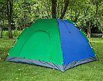 Палатка-зонт 4-местная разноцветная 200*200см, фото 2