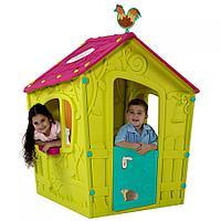 Детский игровой домик Keter с петушком зеленый, фото 1
