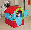 Детский игровой домик Лилипут Palplay красный/голубой