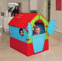 Детский игровой домик Лилипут Palplay красный/голубой, фото 1