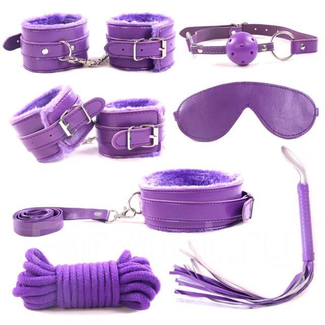БДСМ набор «Purple Kit», 7 предметов
