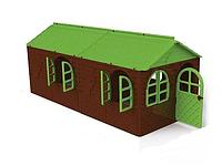 Большой игровой домик Doloni коричневый