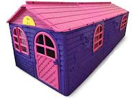 Большой игровой домик Doloni розово/фиолетовый