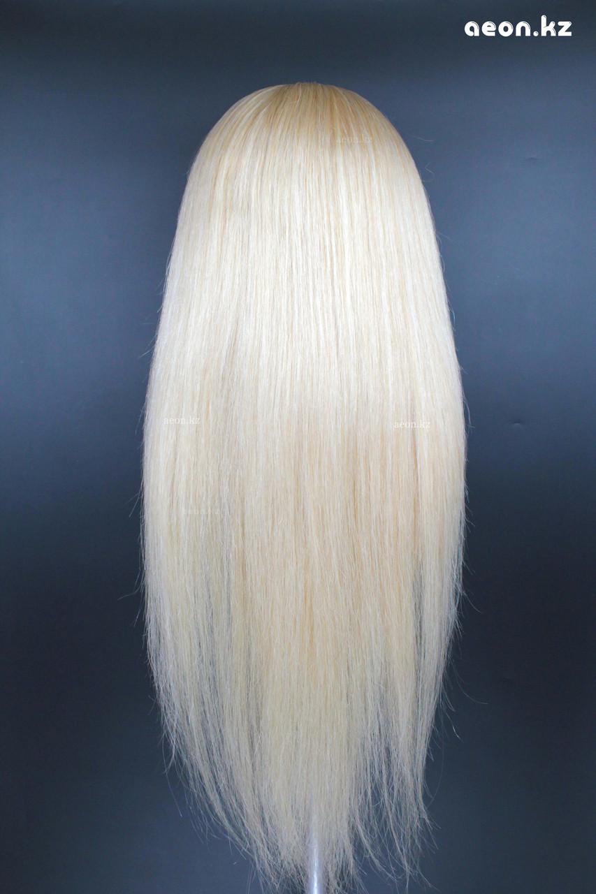 Голова-манекен AEON светло русый волос натуральный (100%) - 75 см - фото 9
