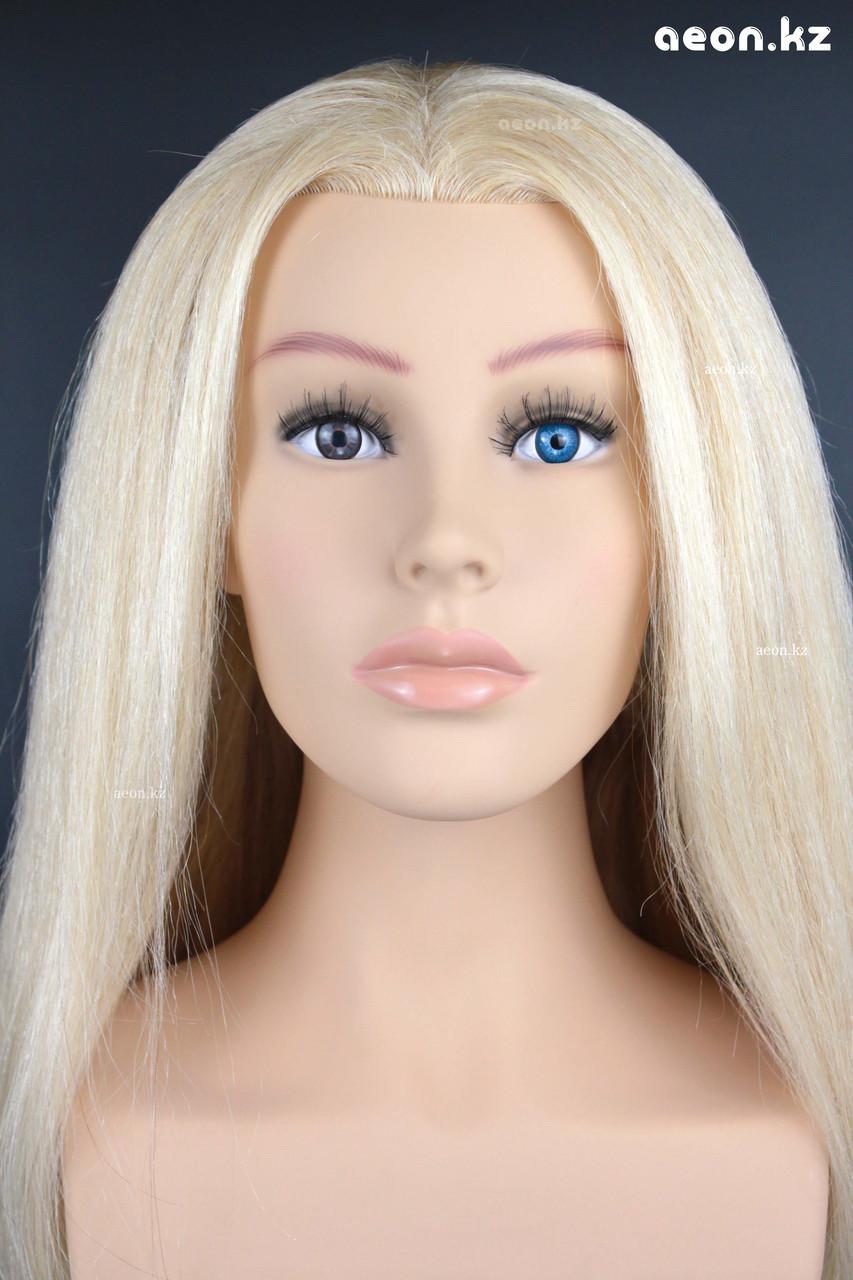 Голова-манекен AEON светло русый волос натуральный (100%) - 75 см - фото 8