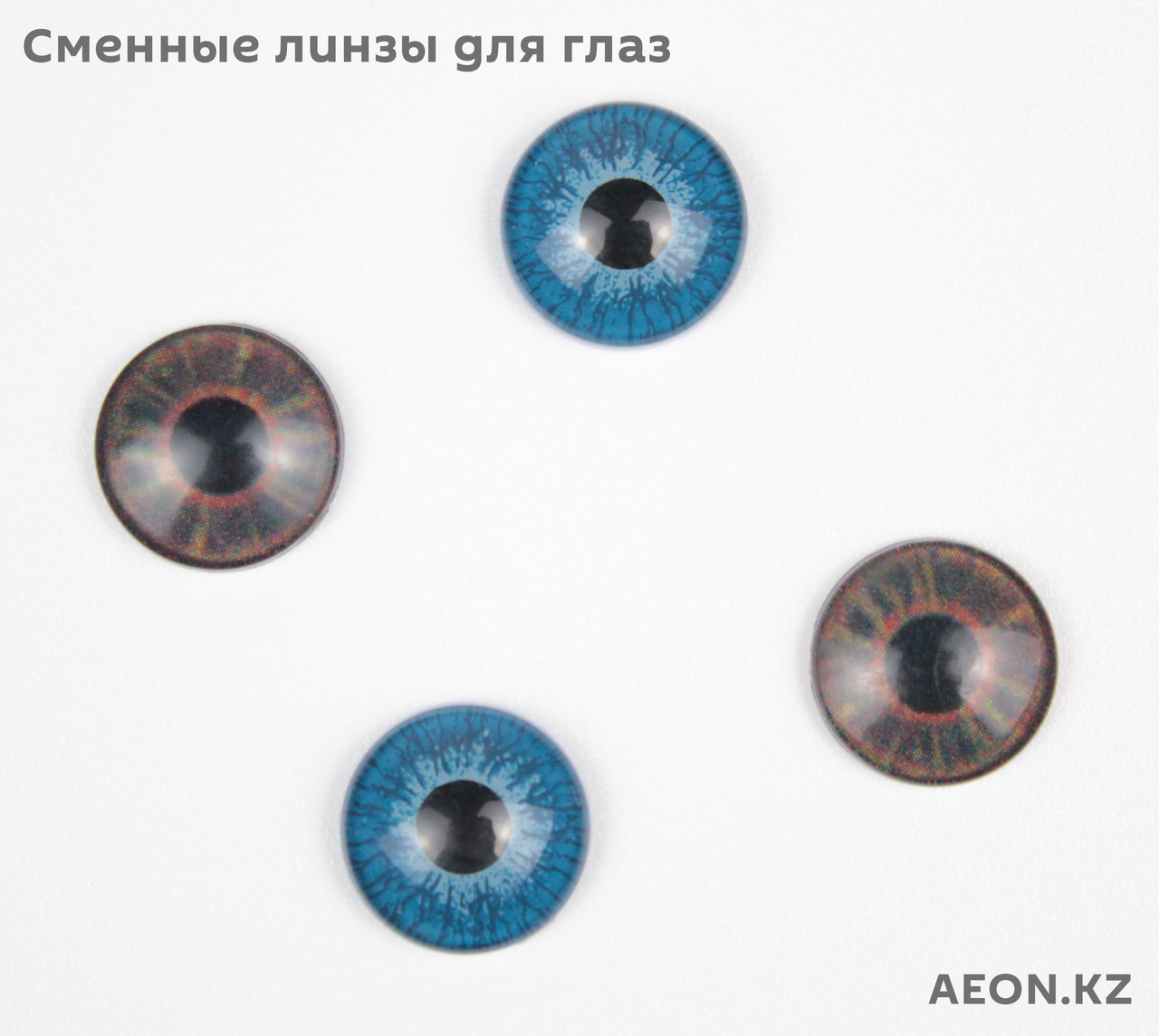 Голова-манекен AEON светло русый волос натуральный (100%) - 75 см - фото 10