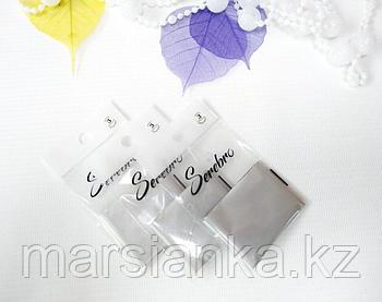 Переводная фольга Serebro №03,серебро матовая, 50см