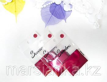 Переводная фольга Serebro №12,красная матовая, 50см
