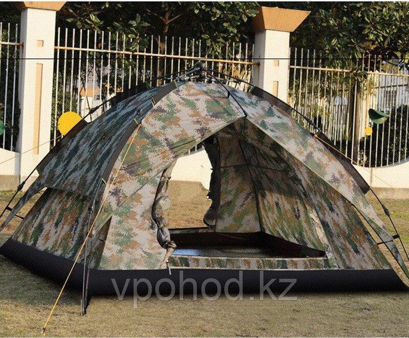 Двухместная палатка камуфляж 200*160*125см
