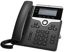 """Cisco CP-7811-3PCC-K9= IP-телефон Проводной  1 линию SIP, 1 порт Fast Ethernet. Монохромный LCD 3,2"""""""