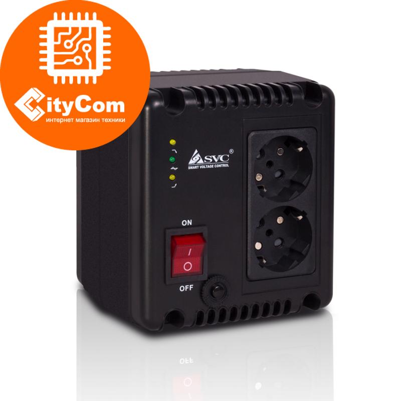 Стабилизатор SVC AVR-1010-G бытовой для дома для защиты электроприборов от перепадов напряжения Арт.6647