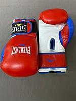 Перчатки боксерские кожа GRANT EVERLAST, фото 1