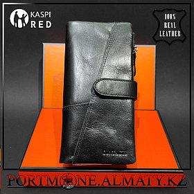 Мужское портмоне-клатч , бумажник, кошелек Contacts