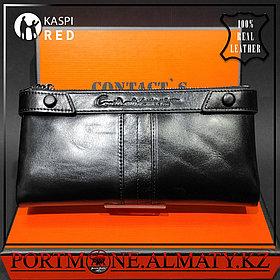 Мужское кошелек, клатч ,бумажник -  натуральная бычья кожа 100%