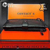 Портмоне, клатч, кошелек в Алматы  натуральная бычья кожа 100%, фото 3