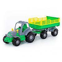 Трактор Крепыш с прицепом №2