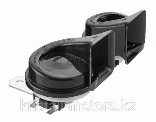 Звуковой сигнал/Фанфара BOSCH 9320335007   EC9 510Hz/420Hz комплект 2шт черный