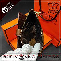 Ключница-портмоне, кошелек, бумажник Contacts  в Алматы , натуральная бычья кожа 100%, фото 3