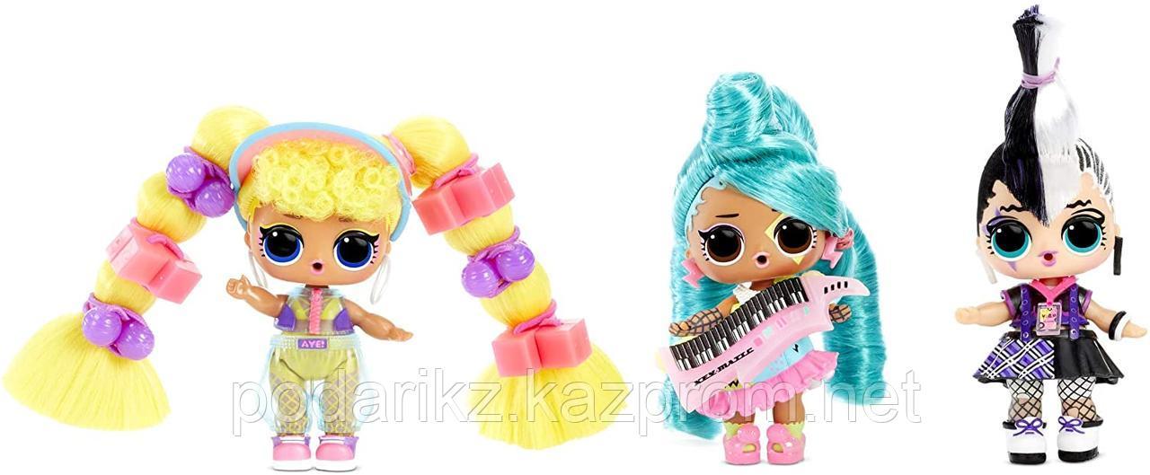 LOL Surprise! Remix Hair Flip Dolls - 15 сюрпризов с раскрытием волос и музыкой - фото 2