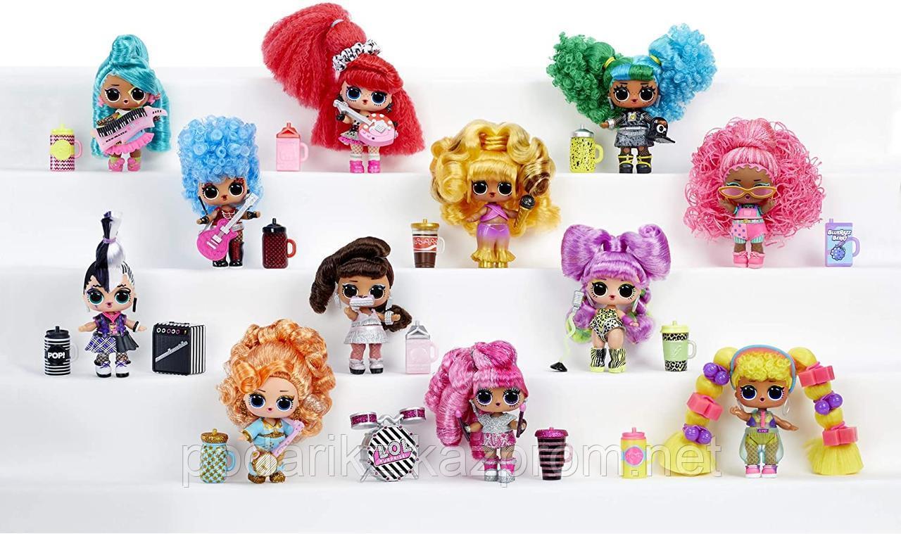 LOL Surprise! Remix Hair Flip Dolls - 15 сюрпризов с раскрытием волос и музыкой - фото 3