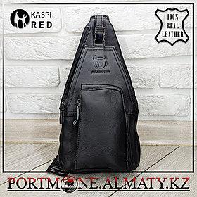 Мужской рюкзак BULLCAPTAIN в Алматы натуральная бычья кожа 100%