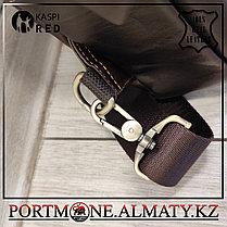 Мужской рюкзак- слинг Contacts, натуральна кожа 100%., фото 2