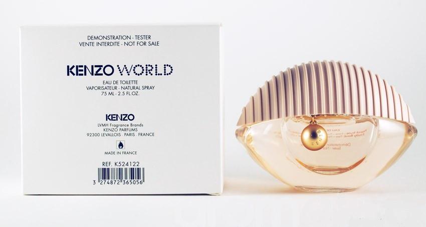 Kenzo World edt tester 100ml