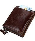 Кожаное портмоне с защитой RFID - Успейте сделать подарок!, фото 2